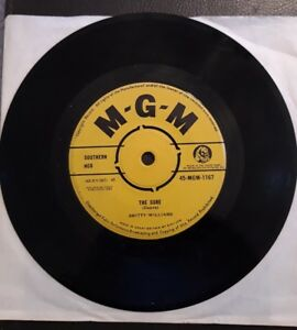 Smitty Williams The Cure 45 rpm Vinyl Single 1962
