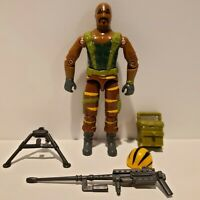 G.I. Joe ARAH 1988 TIGER FORCE ROADBLOCK Action Figure Complete VERY NICE+++!!!