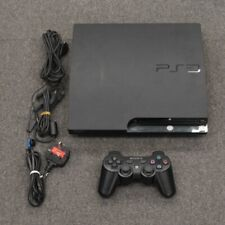 Sony PlayStation 3 Slim Launch Edition 250GB PS3 w/ Wireless Controller, Working