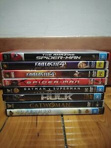 Superhero DVDs - Used - Good condition - region 4 - $7 each *FREE POSTAGE*