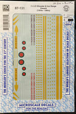 Microscale Decals - HO Scale - 87-131 - Duluth Missabe & Iron Range Diesels