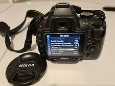 Reflex Nikon D5000 solo corpo macchina + 2 batterie e caricatore