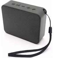 Tragbarer Bluetooth Lautsprecher Sound Box Musik Box Radio Klein Mini schwarz