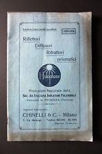 Catalogo HOLOPHANE Illuminazione scientifica e razionale 1929 - 1930 Fidenza