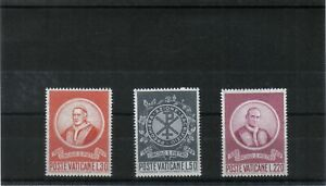 Vatican City  1969 Circle of St Peter   Set of 3 Values MNH  scan 102