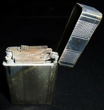 Petrol Lighter - ST DUPONT - Briquet Essence - Vintage - Silver Plated