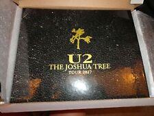 Limited Edition U2 Joshua Tree 2017 Tour Vip Commemorative Book New! #02196