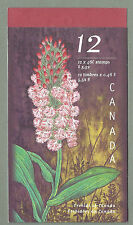 CANADA 1999 - Folded Booklet - ORCHIDS  - (12 @ 46c) - Complete - MNH
