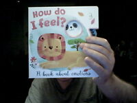HOW DO I FEEL ? -KID'S BOOK ABOUT EMOTIONS MANAGE KIDS IN LOCKDOWN FREE UK POST