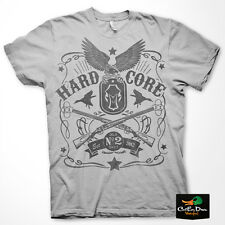 NEW HARD CORE BRANDS HC BLACK LABEL LOGO S/S DUCK HUNTING T-SHIRT LARGE