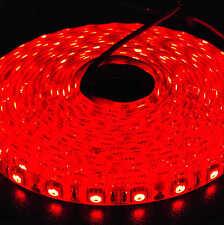 Waterproof 12V Red 5M 5050 SMD 300 Leds LED Strips Led Strip Lights