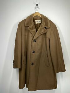 Zero King Wallachs - Wool 3 button Coat - Wind and Water Repellent - Large 44