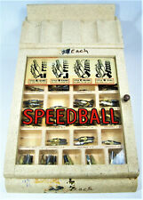 Vintage SPEEDBALL Store Counter Display - NOS Calligraphy Nibs - ~150 Nibs