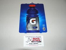 """Dixie Narco 501E Soda Vending Machine """"Gatorade Fierce Grape"""" 20oz Vend Label"""