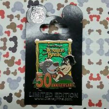 Jungle Book 50th Anniversary Pin 2017 Disney Mowgli Baloo LE 3000