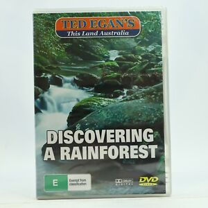 Ted Egan's This Land Australia Discovering A Rainforest DVD New Sealed