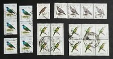 Kenya: Assortment of 1993 Bird stamps, some as strips / blocks; fine used
