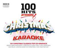 Various Artists : 100 Hits: Christmas Karaoke CD Box Set 5 discs (2016)