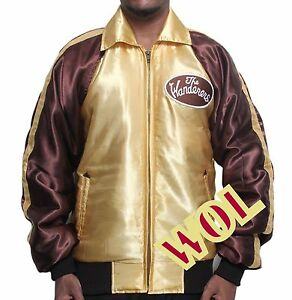 New The Wanderers Movie Rock and Roll Fancy Party Night Club Gold Bomber Jacket
