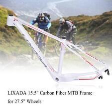 "15.5"" Carbon Fiber MTB Bicycle Mountain Bike Frame for 27.5"" Wheels 2017 B5M6"
