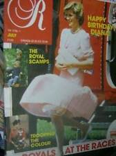 Royalty Magazine V5 #1 Diana Birthday, Royals At The Races, Visit To Althorp