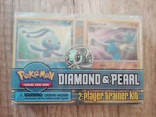Pokemon Diamond & Pearl TCG 2-player trainer kit Manaphy and Lucario Half Decks