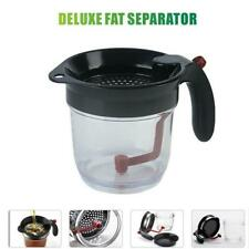 BEST Fat Separator With Bottom Release, Fat Separator with Gravy Strainer 2020