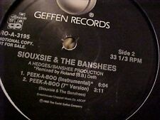 "Siouxsie & The Banshees Peek A Boo 3 mixes including rare instrumental US Dj 12"""