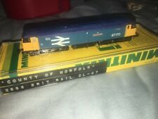 N Scale Minitrix Country Of Norfolk 2966 Brit Rail CL-47 Diesel Lok Engine Gauge