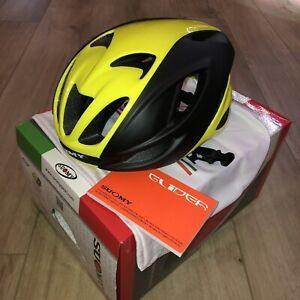 Suomy Glider Cycling Helmet Black/Yellow Size Large
