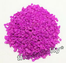 500g Purple Violet Mini Stones Aquarium Fish Tank Gravel Pebbles Rock Decorative