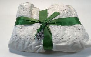 White Queen Cloth Dust Ruffle