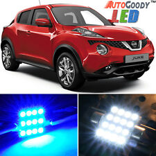 8 x Premium Blue LED Lights Interior Package Kit for Nissan Juke 2011-2015 +Tool
