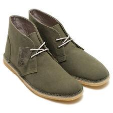 Clarks Original Men ** DESERT JINK BOOT ** Denim Blue or Green ** UK 7,8,9,10 G