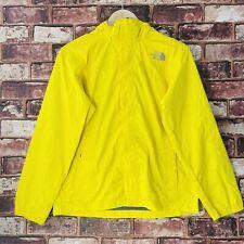 North Face Coat Boys L 12-13 Years Yellow Outdoors Rain Coat Active Hood Jacket