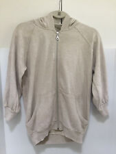 $53 NEW RIP CURL SILVER CLOUD ZIP HOODIE FLEECE MEDIUM CHARCOAL C234