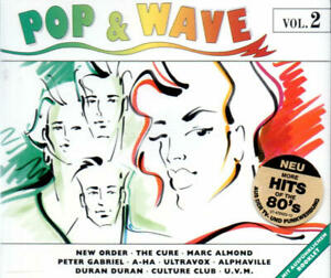 Pop & Wave Vol. 2 (New Order/The Cure/Yazoo/OMD) 2 CDs Columbia 472423 2 (1992)