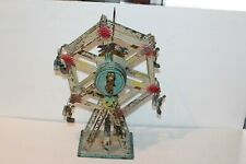 EARLY 1900's DOLL & CEI TIN WIND UP FERRIS WHEEL made in GERMANY