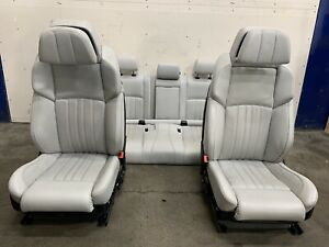 2015 BMW F10 M5 Silverstone Front & Rear Luxury Seats Setup Used