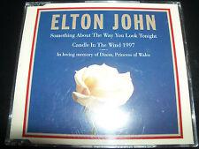Elton John Something About The Way You Look Tonight (Aust) CD Single - Like New