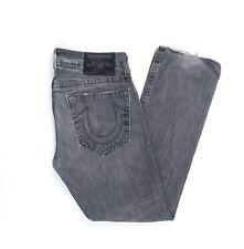 True Religion Bobby Jeans Hose W 3 / L  34 Grau 33/34  -Z2974