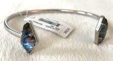 Kendra Scott Lilith Pinch Cuff Abalone Bracelet