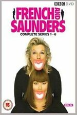 French and Saunders Season 1 2 3 4 5 6 (region 4) DVD The Complete Series