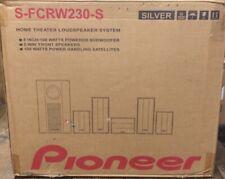 Pioneer Home Theater Loudspeaker System Model S-FCRW220-K New Open Box