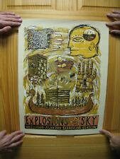 Explosions In The Sky Iron And Wine Poster 2 Two Sided & Grzeca 2008
