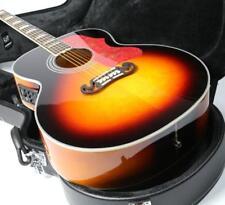 J200 Electric Acoustic Guitar Jumbo 43'' Sunburst Finish Solid Spruce Fishman EQ
