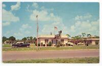 Bay State Court Motel Saint ST PETERSBURG FL Vintage Florida Postcard