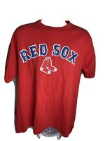 Vintage 2001 Boston Red Sox T Shirt Men's Size Large Red