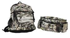 Camo Backpack & Belt Bag Travel Hiking Rucksack New Camping Shoulder Outdoor