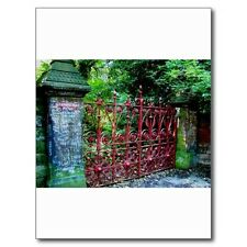 """""""The Famous Strawberry Field Gates"""" /in Liverpool, UK/ (B505) {Postcard}"""